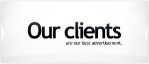 Our Clients Are Our Bets Advertisements